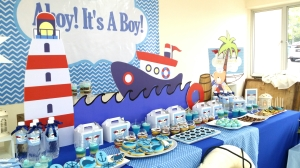 Ahoy!  It's a boy theme