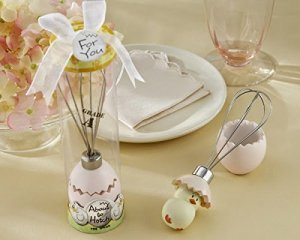 About to hatch' Whisk Baby Shower Favor
