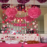 Create a  fun babyshower table