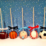 Cool sporty cake pops!